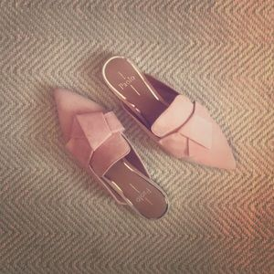 Paolo Pink Mules